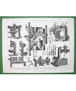 DRILLS Drilling Machines Steam Long Haul - 1870... - $18.32
