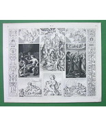 ITALY Works of Raphael, Romano, Sarto - SUPERB ... - $13.86