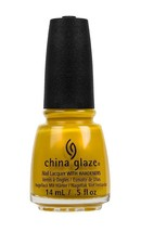 China Glaze Nail Polish Sun's Up Top Down - (82390)  0.5oz/15ml - $5.20