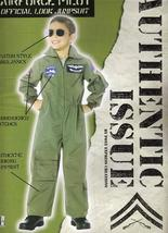 AIR FORCE PILOT FLIGHT SUIT CHILD COSTUME LG 12/14 - $45.00