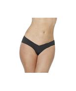 Alessandra B Camel Toe Cover Thong (Small, Black) - $16.99