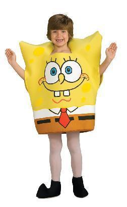 SpongeBob Squarepants Costume 4/6 Childs