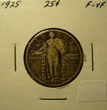 Silver US Standing Liberty Quarter 1925 - $23.00