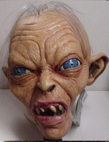 GOLLUM LotR CHARACTER LATEX MASK
