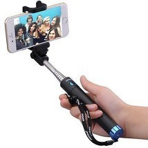 Monopod Extendable Selfie Stick with bluetooth Mpow iSnap X 1 piece ios,... - $21.21 CAD