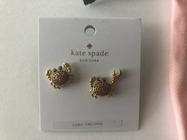 Kate Spade Shore Thing Pave Crab Studs/Earrings - NWT - $28.00