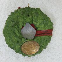 Vintage 1987 Hallmark Keepsake Ornament Wreath of Memories in Original Box image 8