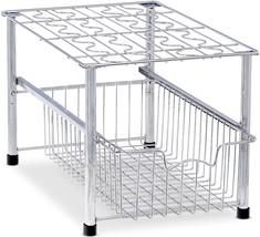 SimpleHouseware Stackable Under Sink Cabinet Sliding Basket Organizer Dr... - $59.99