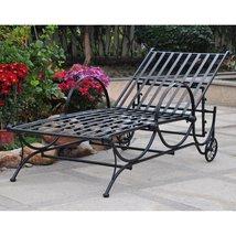 Patio Chaise Lounge Pool Deck Garden Recline Adjustable  - $347.00