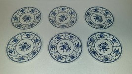"""Johnson Brothers Ironstone Indies Blue 6 1/4"""" Bread & Butter Plate – Set... - $16.00"""