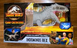 Jurassic World: Camp Cretaceous Super Colossal Indominus Rex HUGE 3.5FT - $112.20