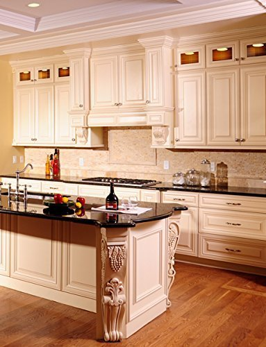 10x10 Kitchen Cabinets: Creme Maple Glazed Collection 10' X 10' Kitchen Cabinets