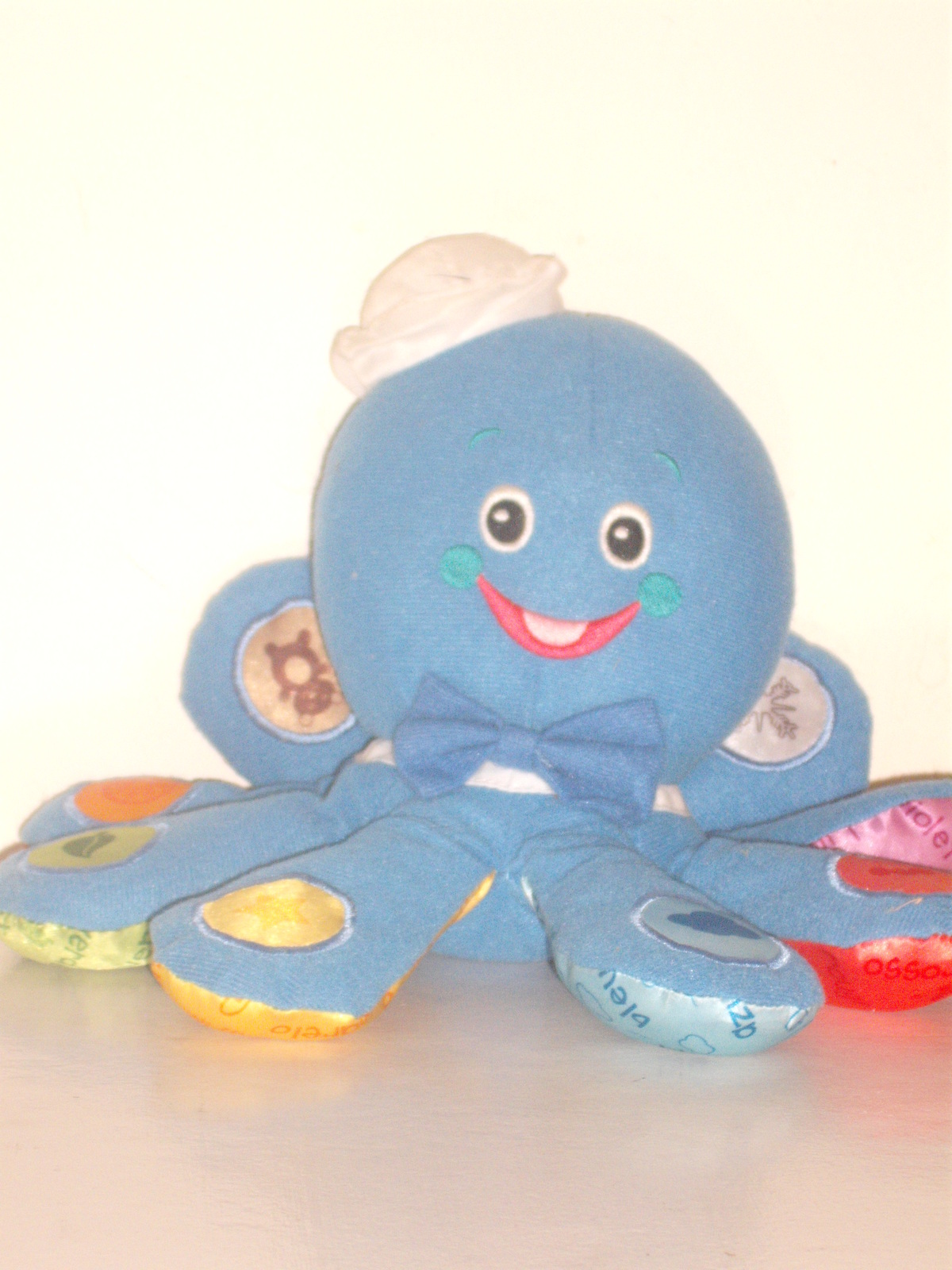 Baby Einstein Musical Plush Dragon Toy Teach French ...