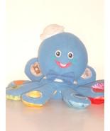 "Baby Einstein 6"" plush English, Spanish, French Speaking Octopus  - $8.50"