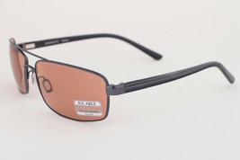 Serengeti San Remo Shiny Gunmetal Gray Stripe / Drivers Sunglasses 7608 - $175.91