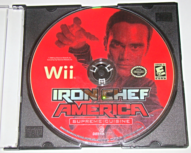 Nintendo Wii - IRON CHEF AMERICA - SUPREME CUISINE (Game Only) image 3