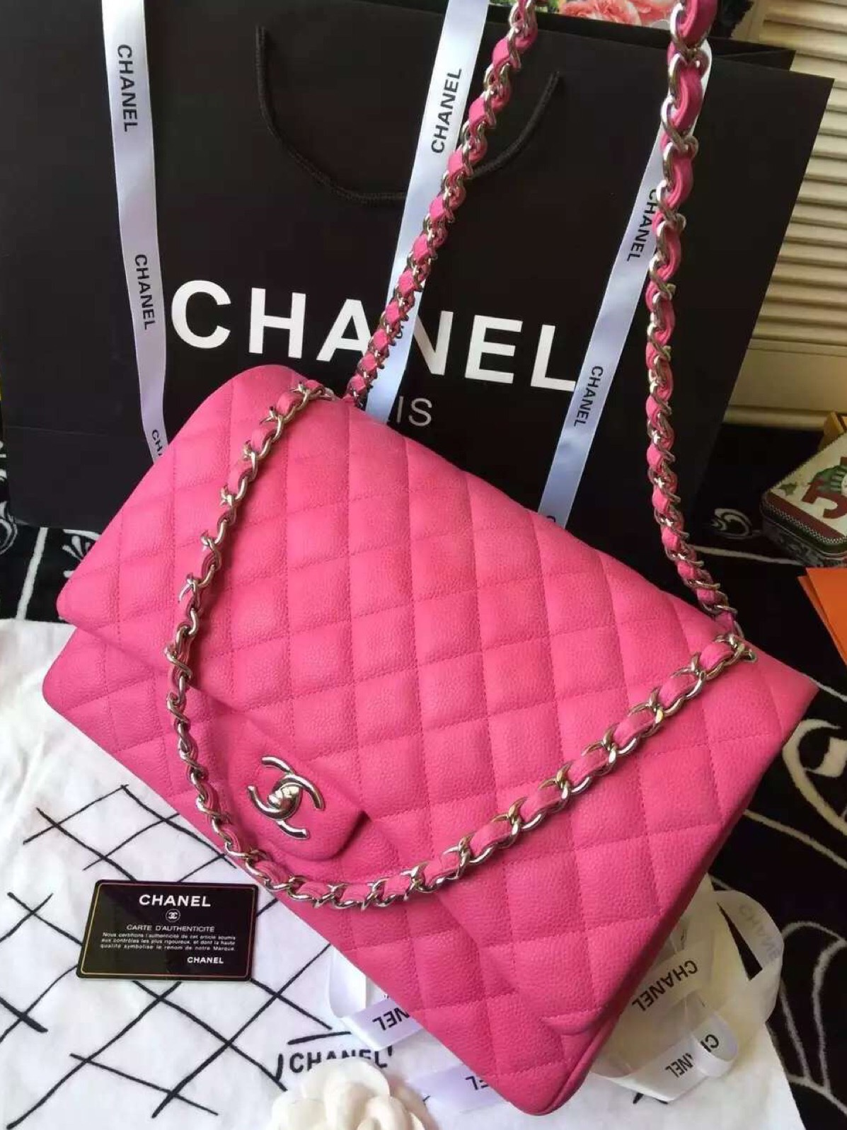 798d82324b2 Chanel Maxi Bag Original Price