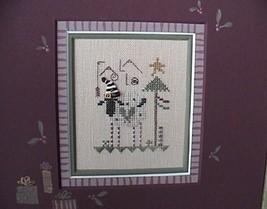 Fa La La christmas winter holiday cross stitch kit Shepherd's Bush - $14.00