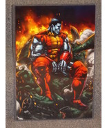 Marvel X-Men Colossus Glossy Print In Hard Plastic Sleeve - $24.99