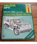 MAZDA MPV 1989 - 1994 all models HAYNES MANUAL  #61020 (2047) - $1.53