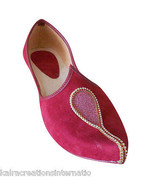 US 12 INDIAN MEN SHOES GROOM MOJARI HANDMADE KHUSSA DESIGNER JOOTI FLIP-... - $49.99