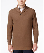 NWT $75 Tasso Elba Men's Large Shawl-Collar Sweater  - £27.03 GBP