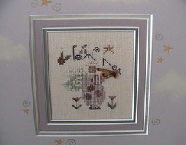 Fear Not christmas winter holiday cross stitch kit Shepherd's Bush - $14.00