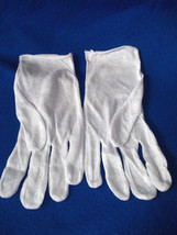 Gloves White Cotton Economy - $4.95