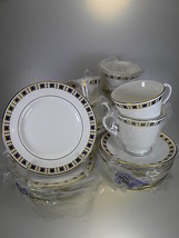 Royal Worcester Blenheim 24 Piece Tea Entertainer Set - $121.72