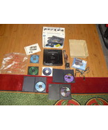 Sega Saturn Black Console in box NTSC 6 games v... - $197.99