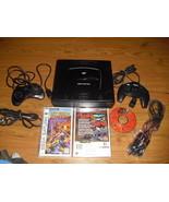 Sega Saturn Black Console (NTSC)w/ OFF WORLD IN... - $118.79