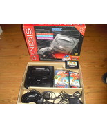 Sega Genesis 2 Black Console in box (NTSC)  w/ ... - $128.69