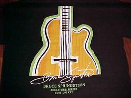 Hard Rock Cafe Signature Series Edition 21 Bruce Springsteen Black T-Shirt S - $24.74