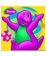 BARNEY Dinosaur Party Supplies NAPKINS CAKE x16 Birthday Decoration Baby... - $12.82