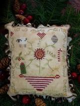 Good Cheer christmas winter holiday cross stitch kit Shepherd's Bush - $20.00