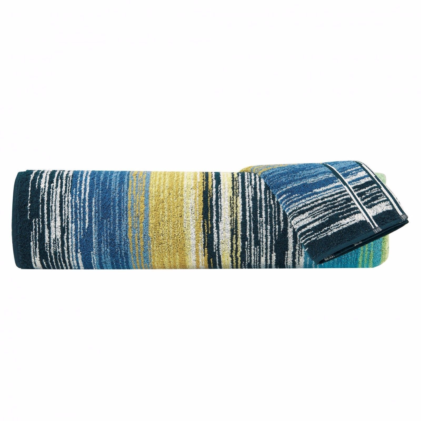 Missoni Stan Hand Towel: Missoni Home Stanley Multi Color Striped Hand Towel