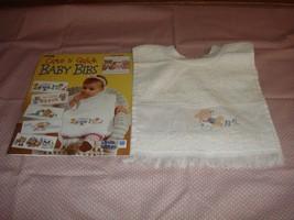 Baby Bib And Cross Stitch Pattern Book  - $13.99