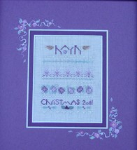 Hark christmas winter holiday cross stitch kit Shepherd's Bush - $20.00