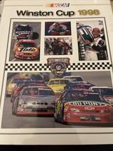 Very nice Nascar 1998 Winston Cup HTF Yearbook-Jeff Gordon Champion - $7.43