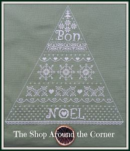 Primary image for Bon Noel christmas tree cross stitch chart The Shop Around The Corner
