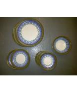 Vintage Casual Ceram TWILITE 8008 JAPAN Dishes Plates - $199.99