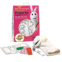 Folkmanis Bunny Hand Puppet Craft Kit - $19.00