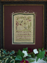 Holly and Ivy Sampler christmas winter holiday cross stitch kit Shepherd's Bush - $40.00