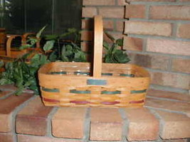 Longaberger 1992 Bee Basket Small Gathering Size with Plastic Protector New - $39.55