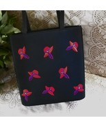 Red Hat Society Tote Handbag Black  - $19.00