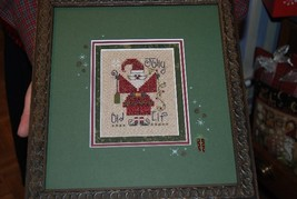 Jolly Old Elf christmas winter holiday cross stitch kit Shepherd's Bush - $12.00