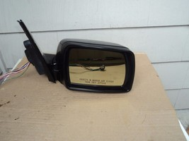 2003 BMW X5 PASSENGER RIGHT  DOOR MIRROR VIEW MIRROR 12 WIRES  BLACK - $133.65