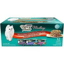 Food Cat Fancy Feast Elegant Medleys Collection Wet Purina Primavera Florentine - $11.75