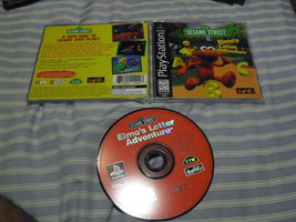 Elmo's Letter Adventure  (Sony PlayStation 1, 1... - $9.89