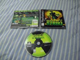 Nuclear Strike  (Sony PlayStation 1, 1997) comp... - $9.89
